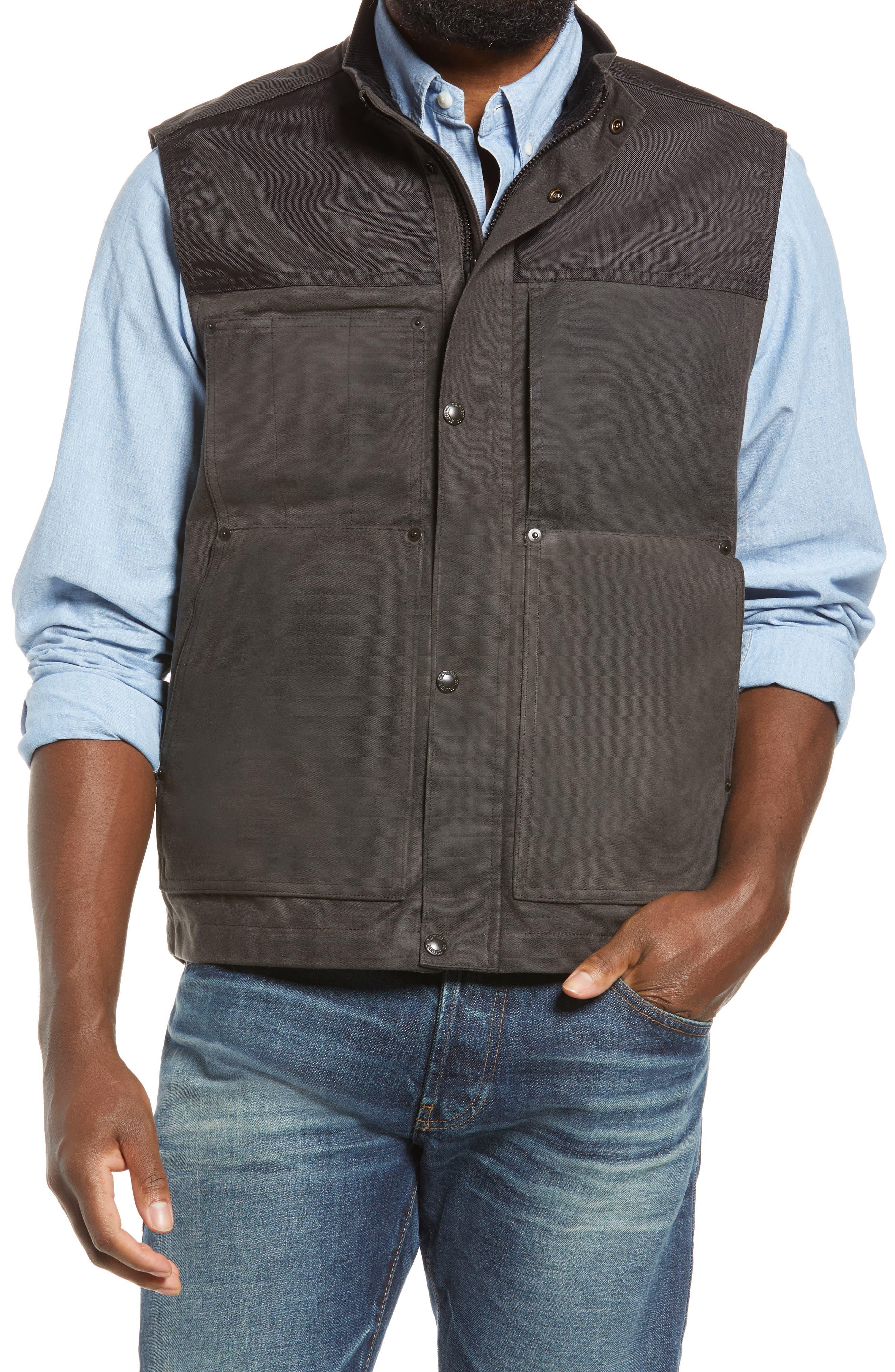 Alcan Waxed Cotton Vest