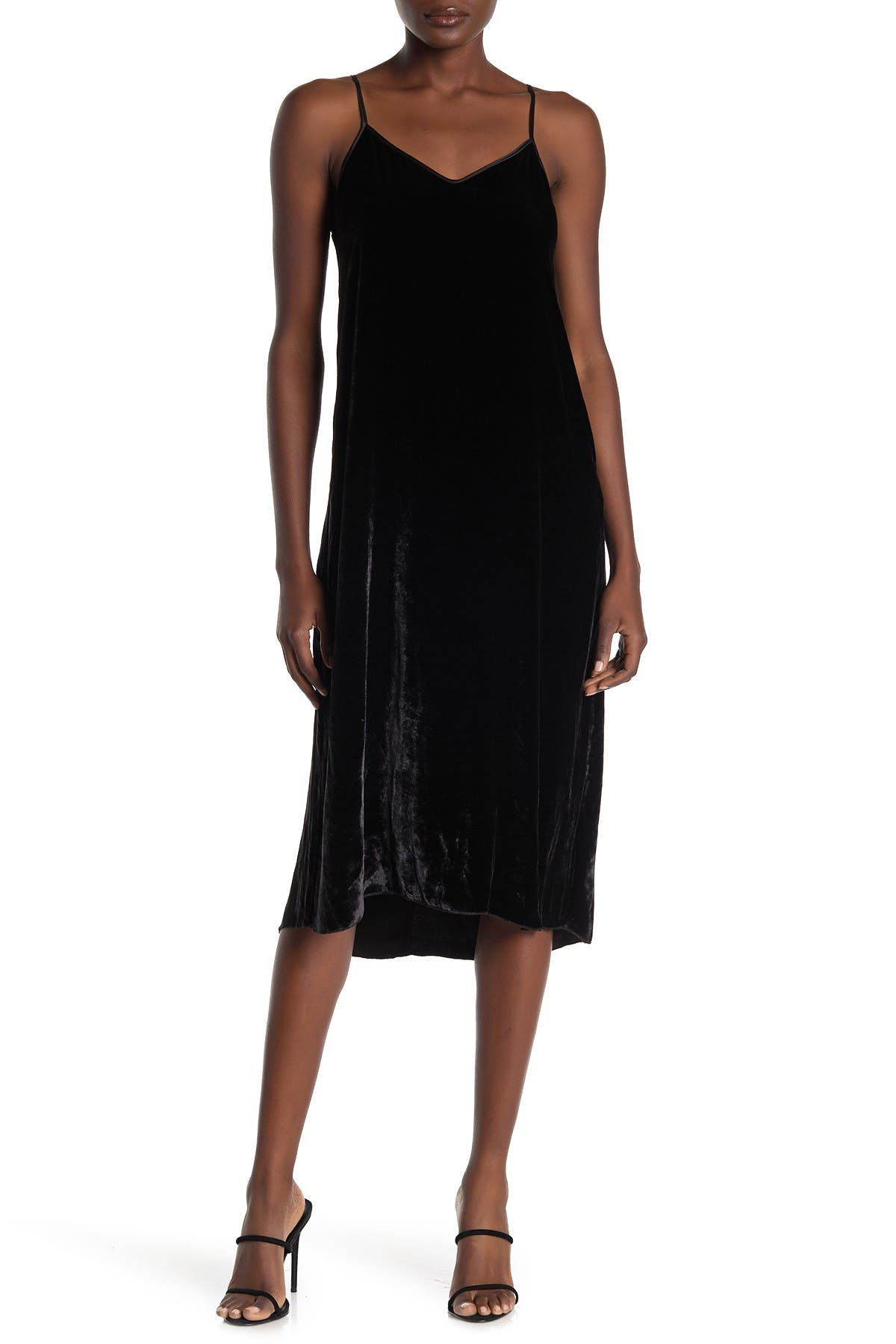 Image of ATM Anthony Thomas Melillo Velvet Slipdress