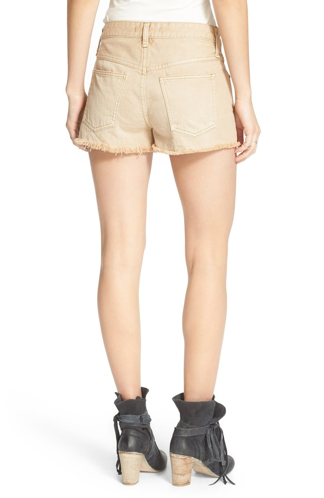 ,                             'Uptown' Denim Shorts,                             Alternate thumbnail 14, color,                             250