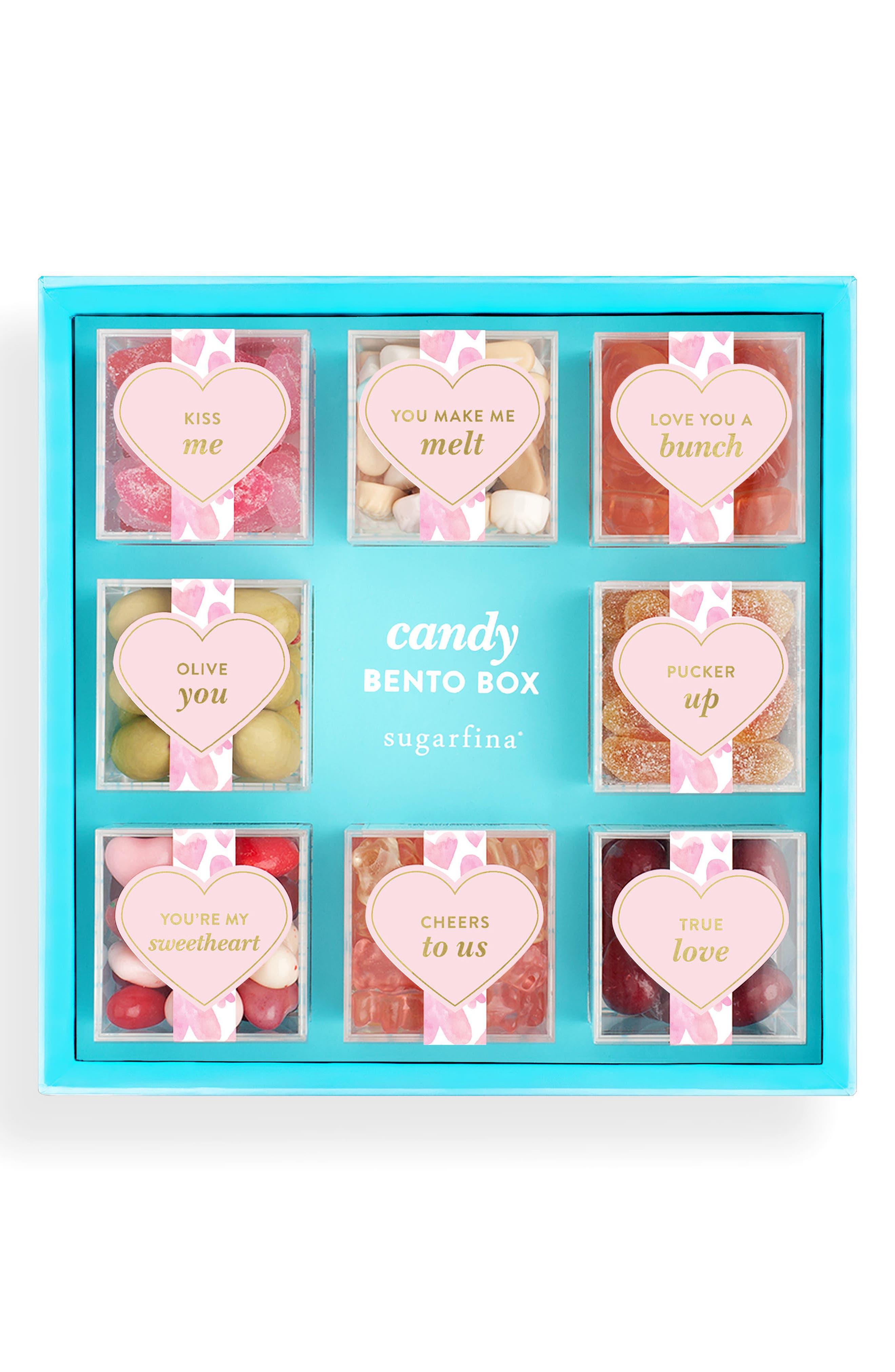 ,                             XOXO Love Candy Bento Box,                             Main thumbnail 1, color,                             650