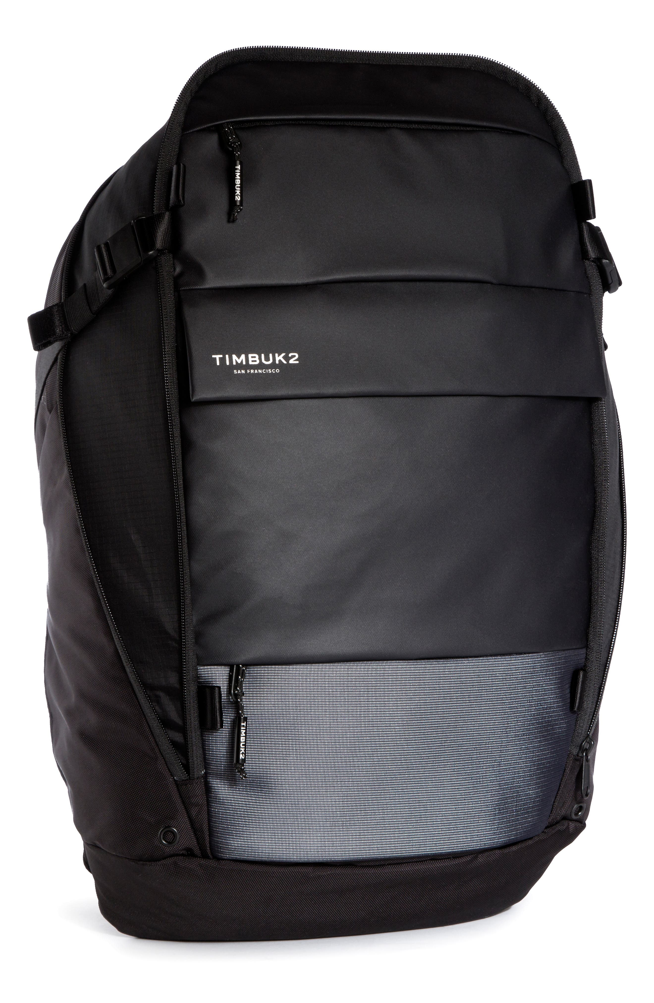 Parker Water Resistant Backpack, Main, color, 001