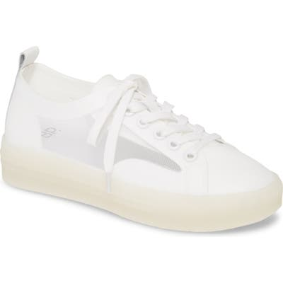 Bp. Della Mesh Panel Sneaker- White