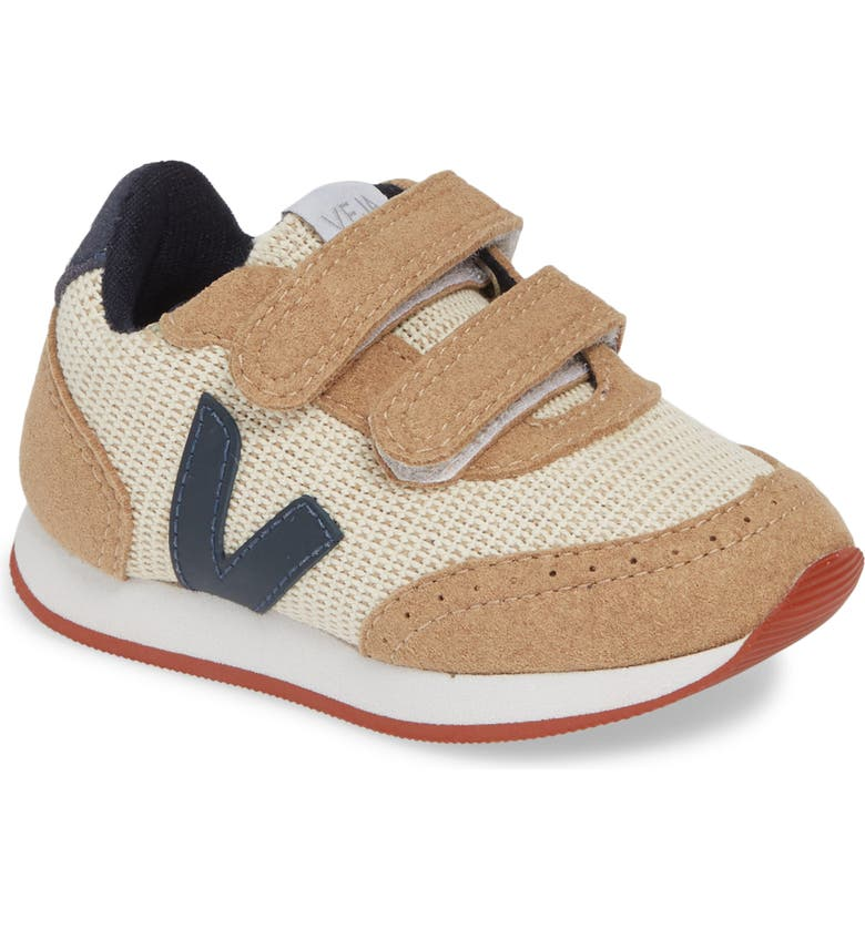 VEJA Arcade Double Strap Sneaker, Main, color, NATURAL NAUTICO