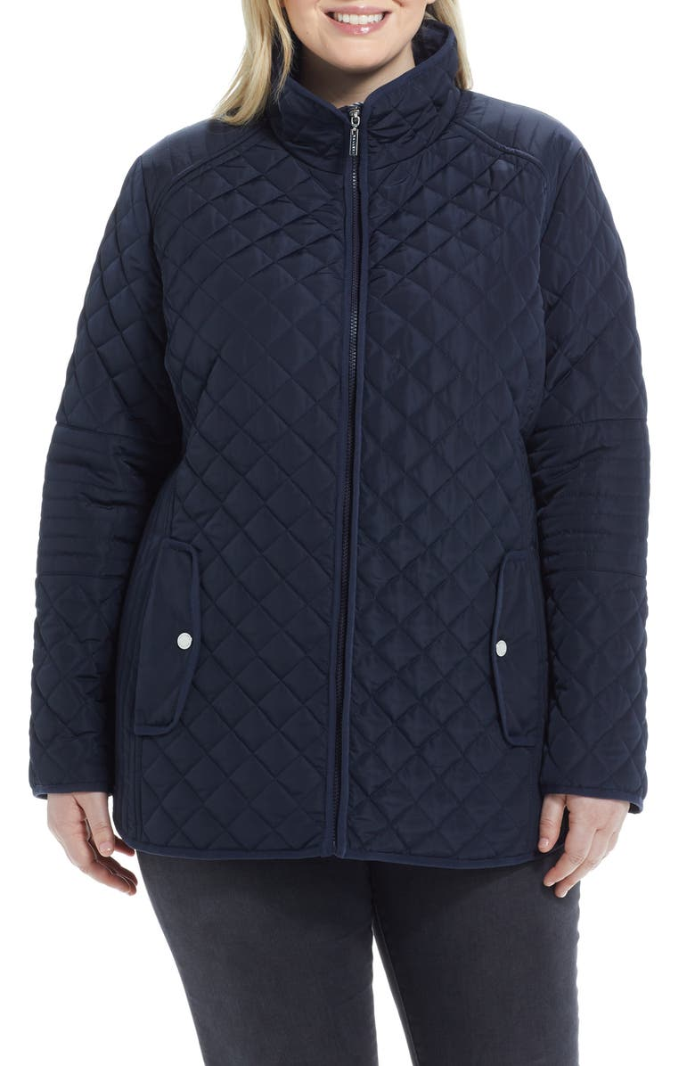 GALLERY Quilted Jacket, Main, color, 410