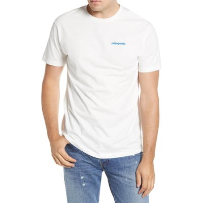 Patagonia Breaking Trail Organic Cotton T-Shirt, White