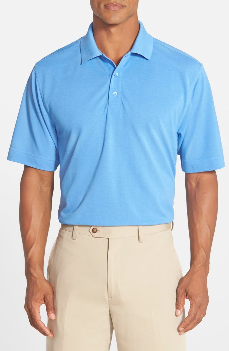 CUTTER & BUCK Championship Classic Fit DryTec Golf Polo, Main, color, BAYOU