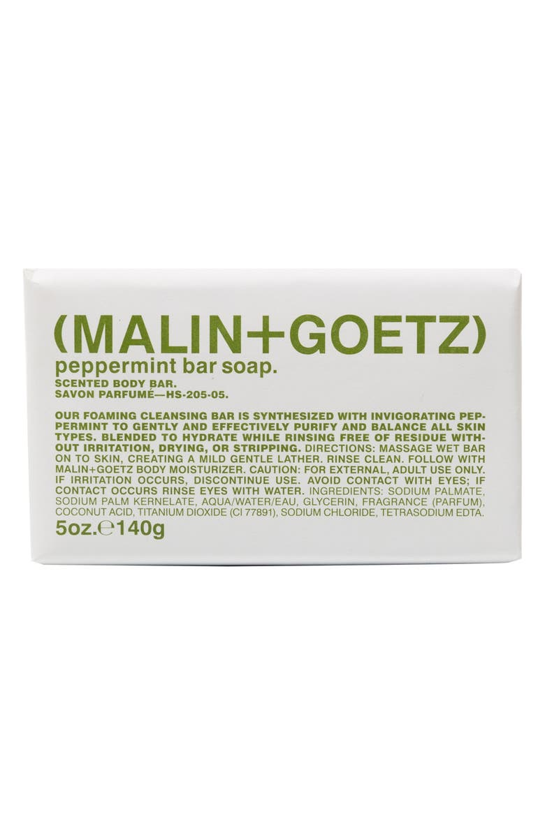 MALIN+GOETZ Bar Soap, Main, color, PEPPERMINT