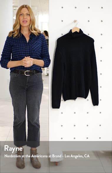 Harlow Ribbed Turtleneck Sweater, sales video thumbnail