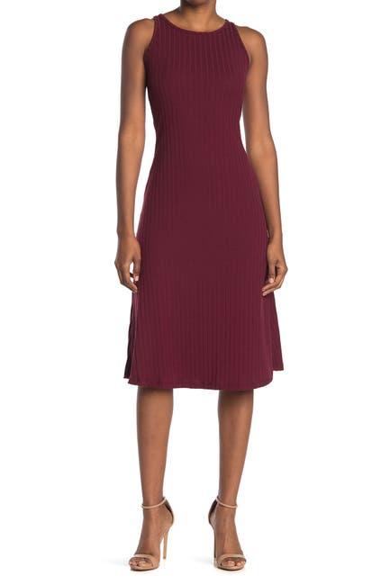 Image of Velvet Torch Scoop neck Sleeveless Dress
