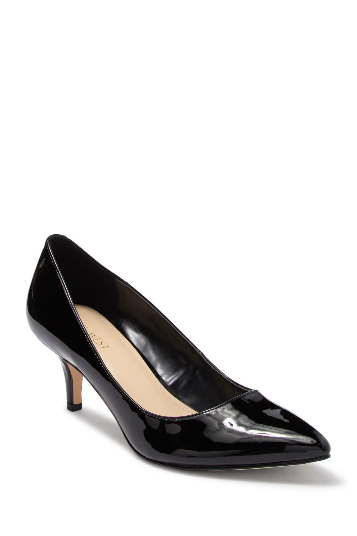 Image of Nine West Low Key Pointed Toe Pump