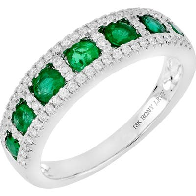 Bony Levy Diamond & Gemstone Band Ring (Nordstrom Exclusive)