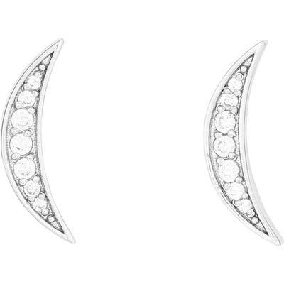 Gorjana Crescent Shimmer Stud Earrings