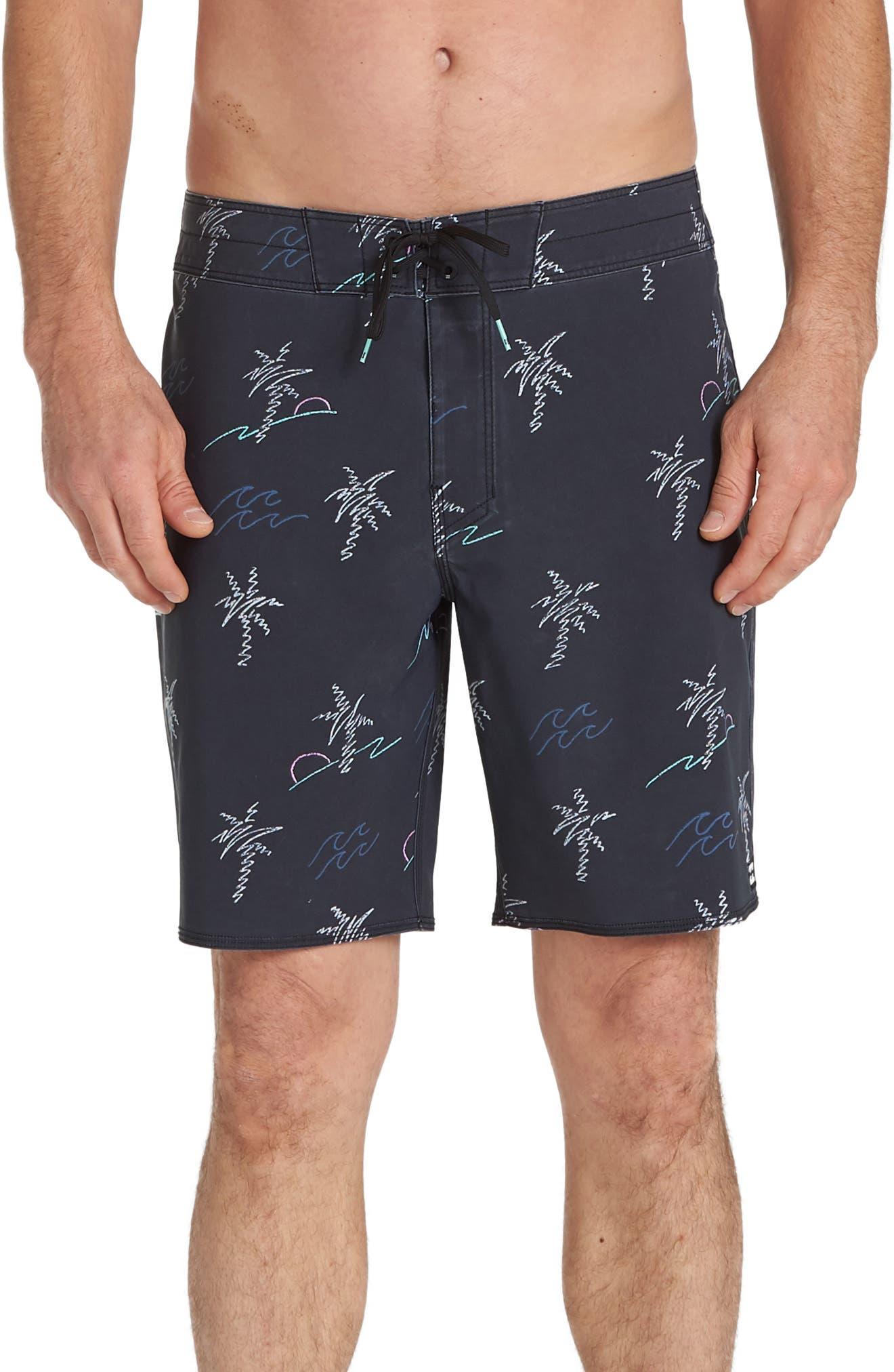 Billabong Sundays Pro Board Shorts, Grey