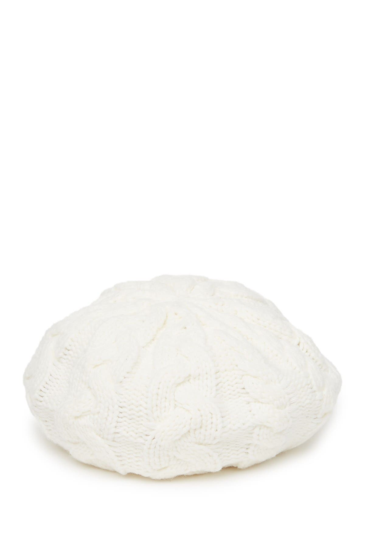 Image of Michael Kors Cable Knit Beret