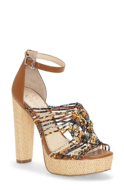 Image of Jessica Simpson Ignatia Knotted Basketweave Sandal