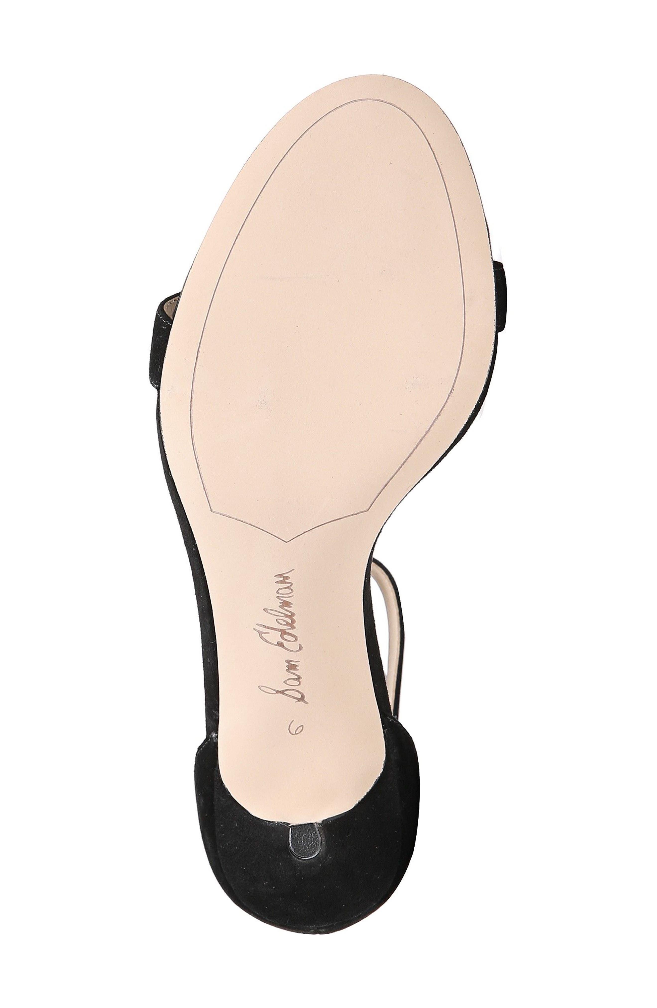 ,                             'Patti' Ankle Strap Sandal,                             Alternate thumbnail 155, color,                             005