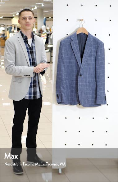 Ironside Regular Fit Plaid Sport Coat, sales video thumbnail