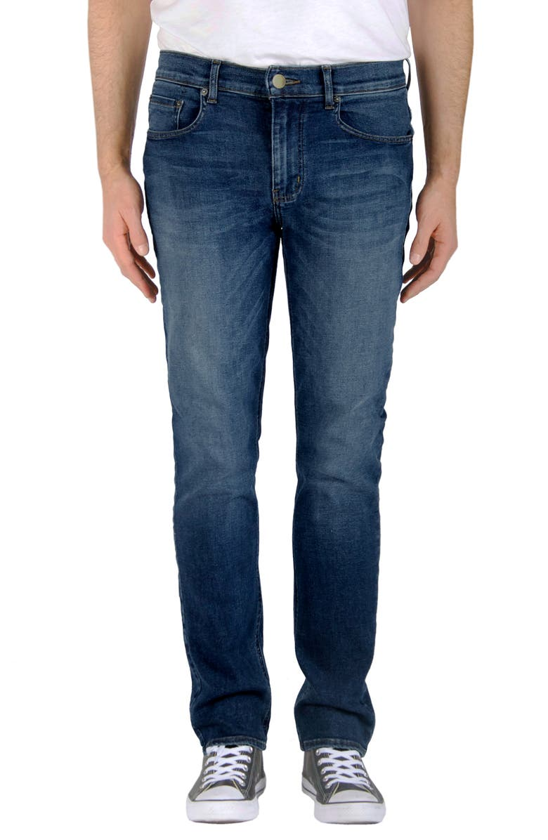 MODERN AMERICAN Lexington Slim Leg Jeans, Main, color, AUSTIN