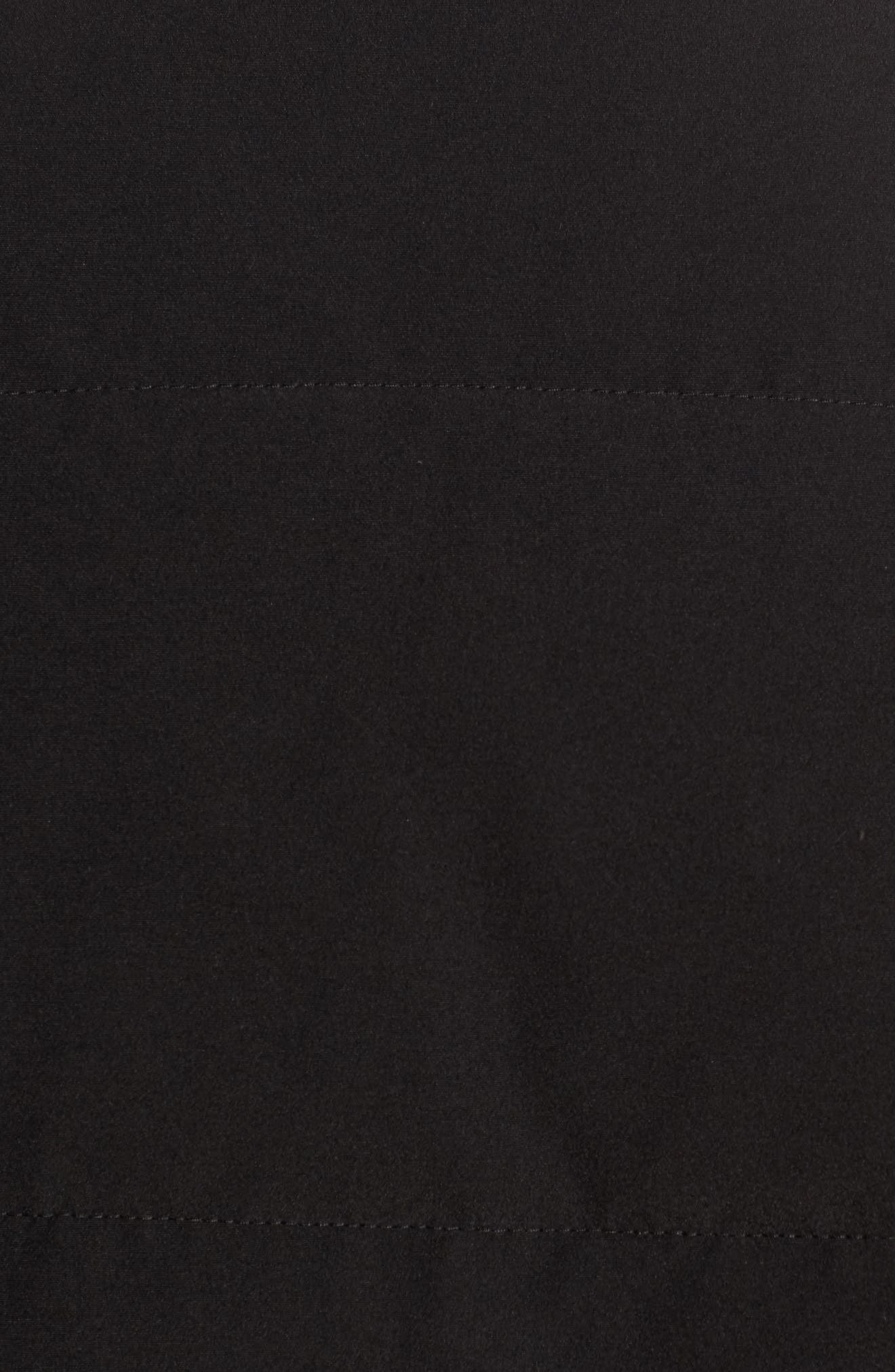 ,                             Garson Regular Fit Quilted Down Vest,                             Alternate thumbnail 6, color,                             BLACK