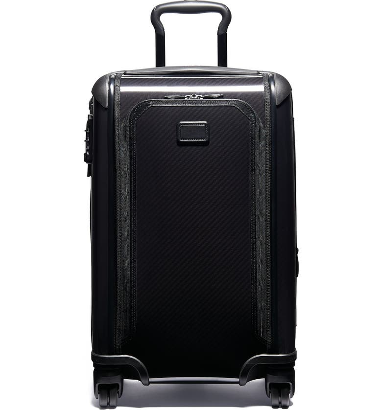 TUMI Tegra-Lite<sup>®</sup> Max International 22-Inch Expandable Carry-On, Main, color, BLACK/ BLACK