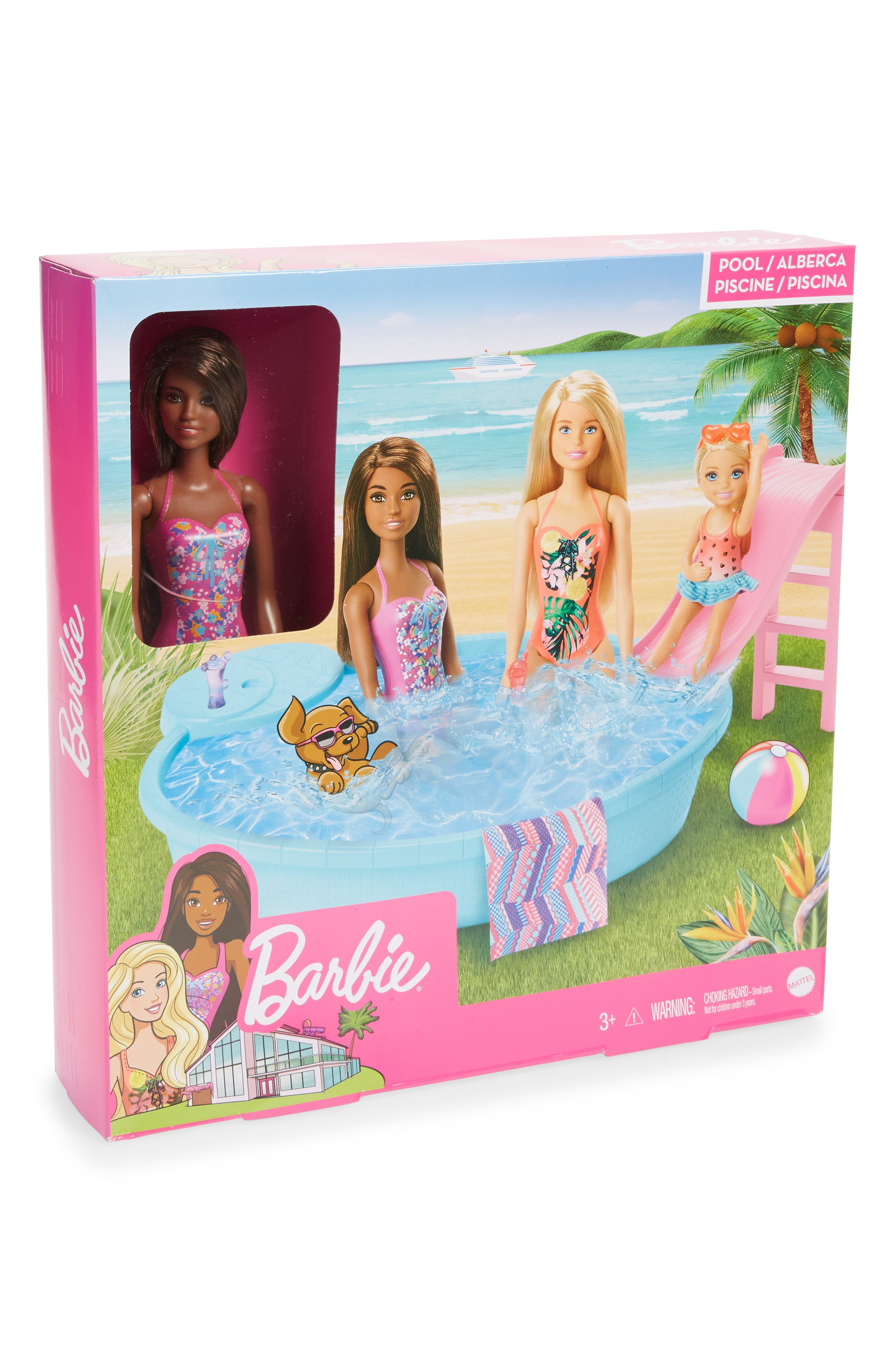 Image of Mattel Barbie(R) Doll Pool Playset