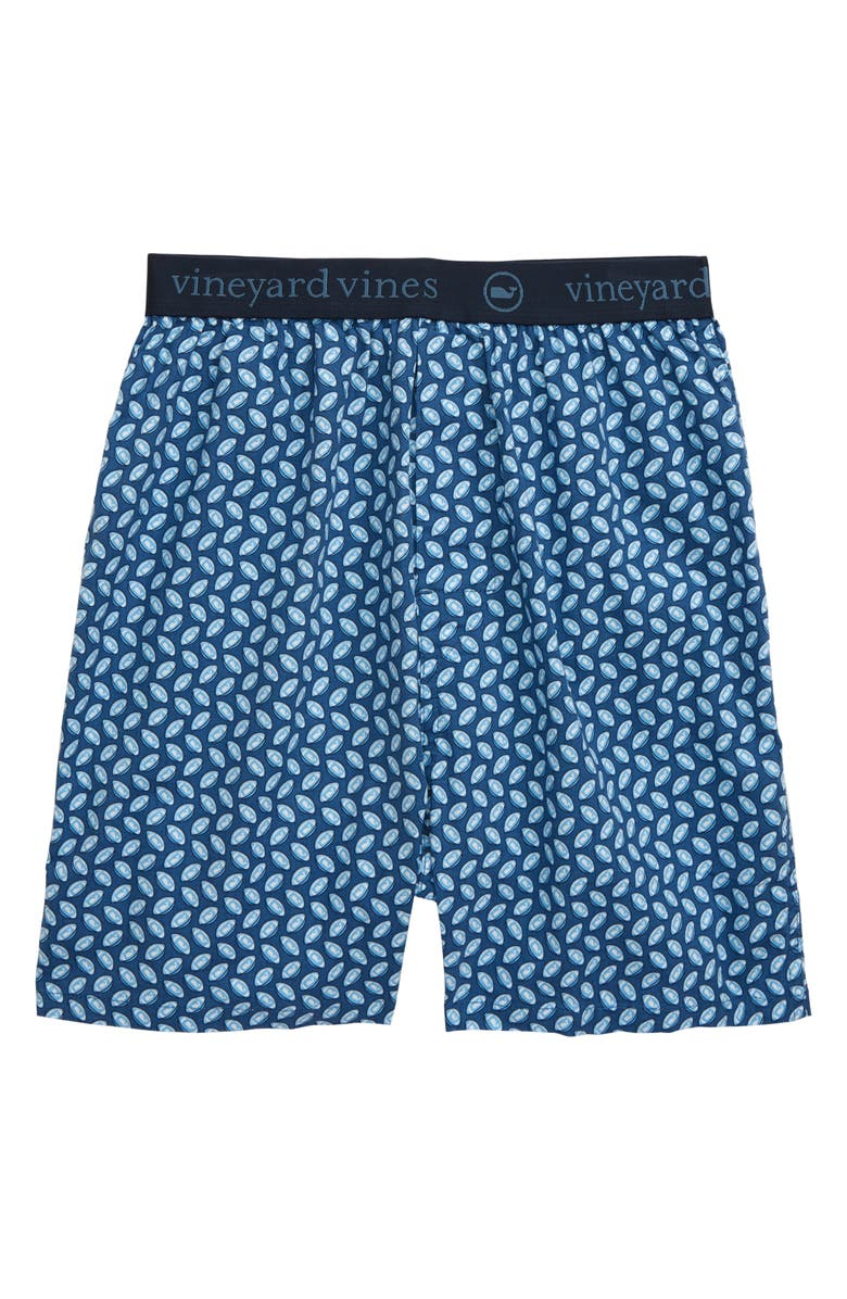 VINEYARD VINES Print Boxers, Main, color, MOONSHINE