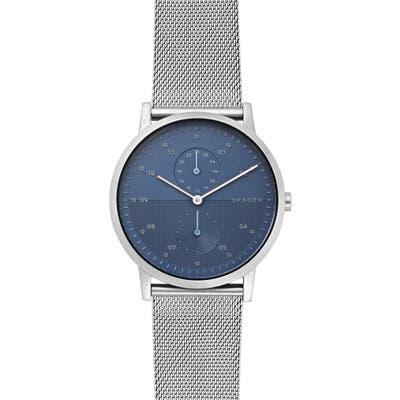 Skagen Designs Kristoffer Multifunction Mesh Strap Watch, 42Mm