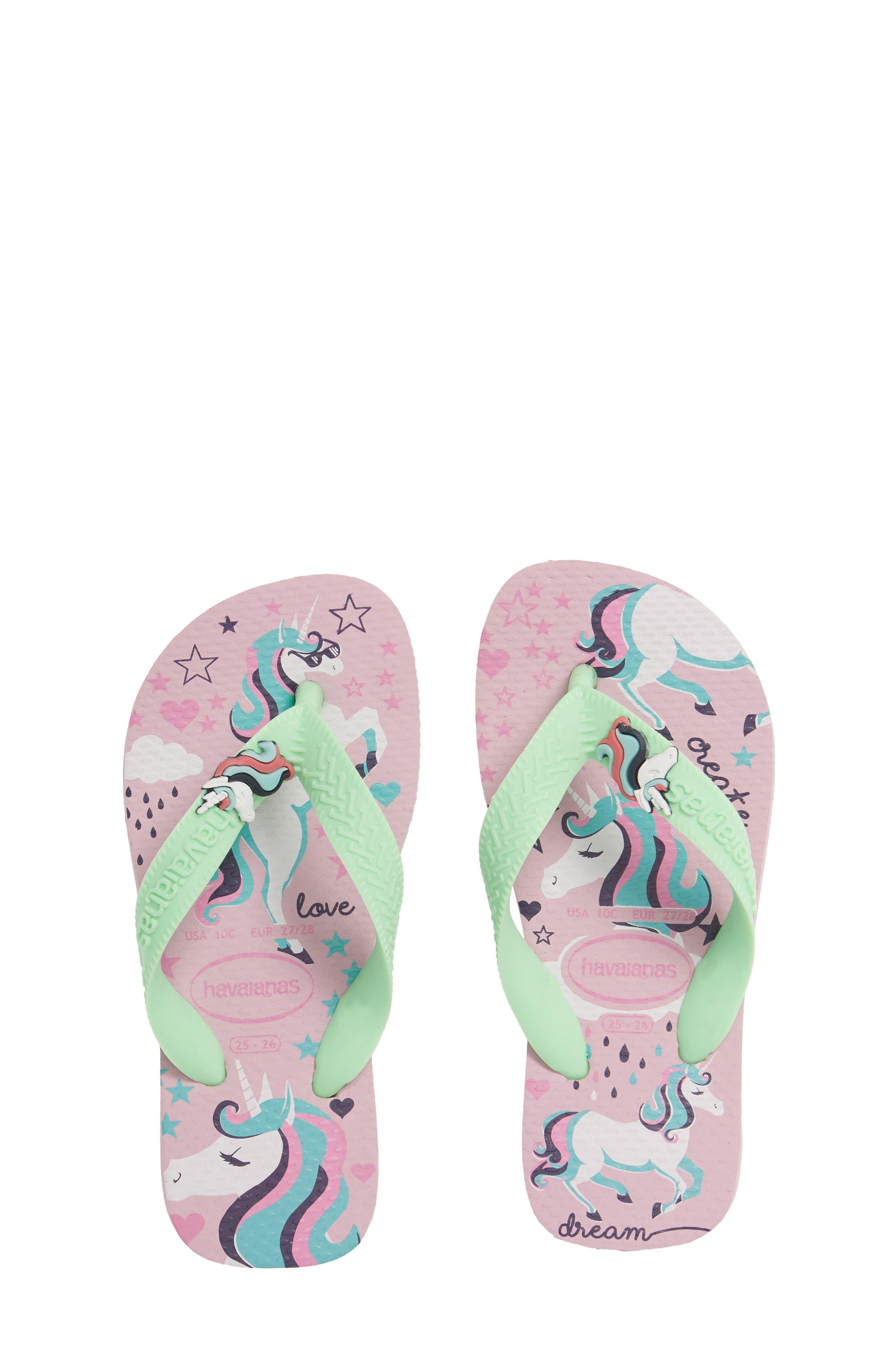 Havianas Fantasy Flip Flop, Main, color, ROSE QUARTZ