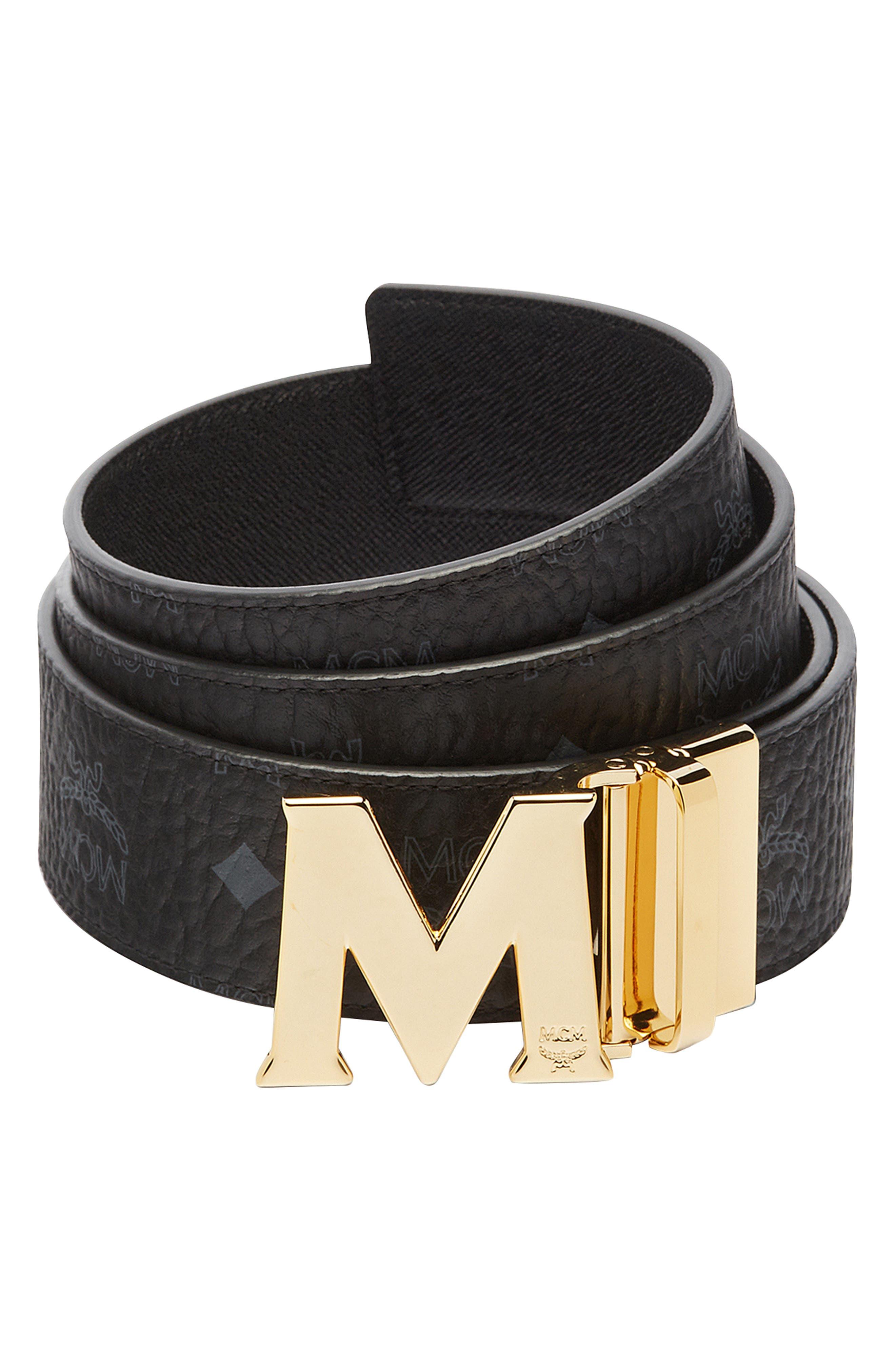 Flat M Reversible Belt