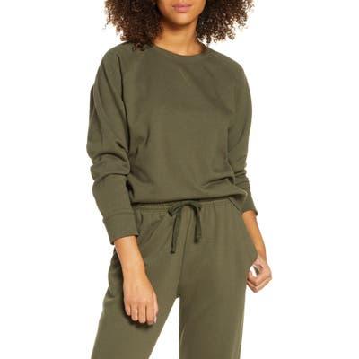 Richer Poorer Sweatshirt, Ivory