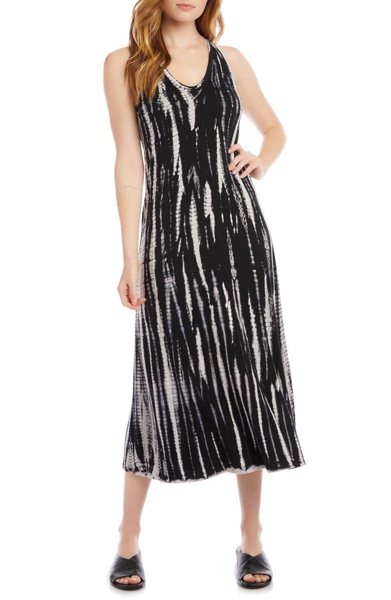 KAREN KANE Tie-Dye Midi Dress, Main, color, TIE DYE