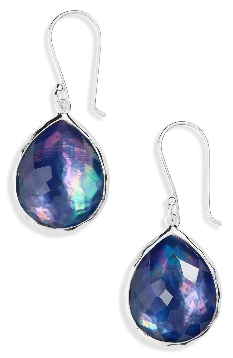 IPPOLITA 'Wonderland' Teardrop Earrings, Main, color, LAPIS