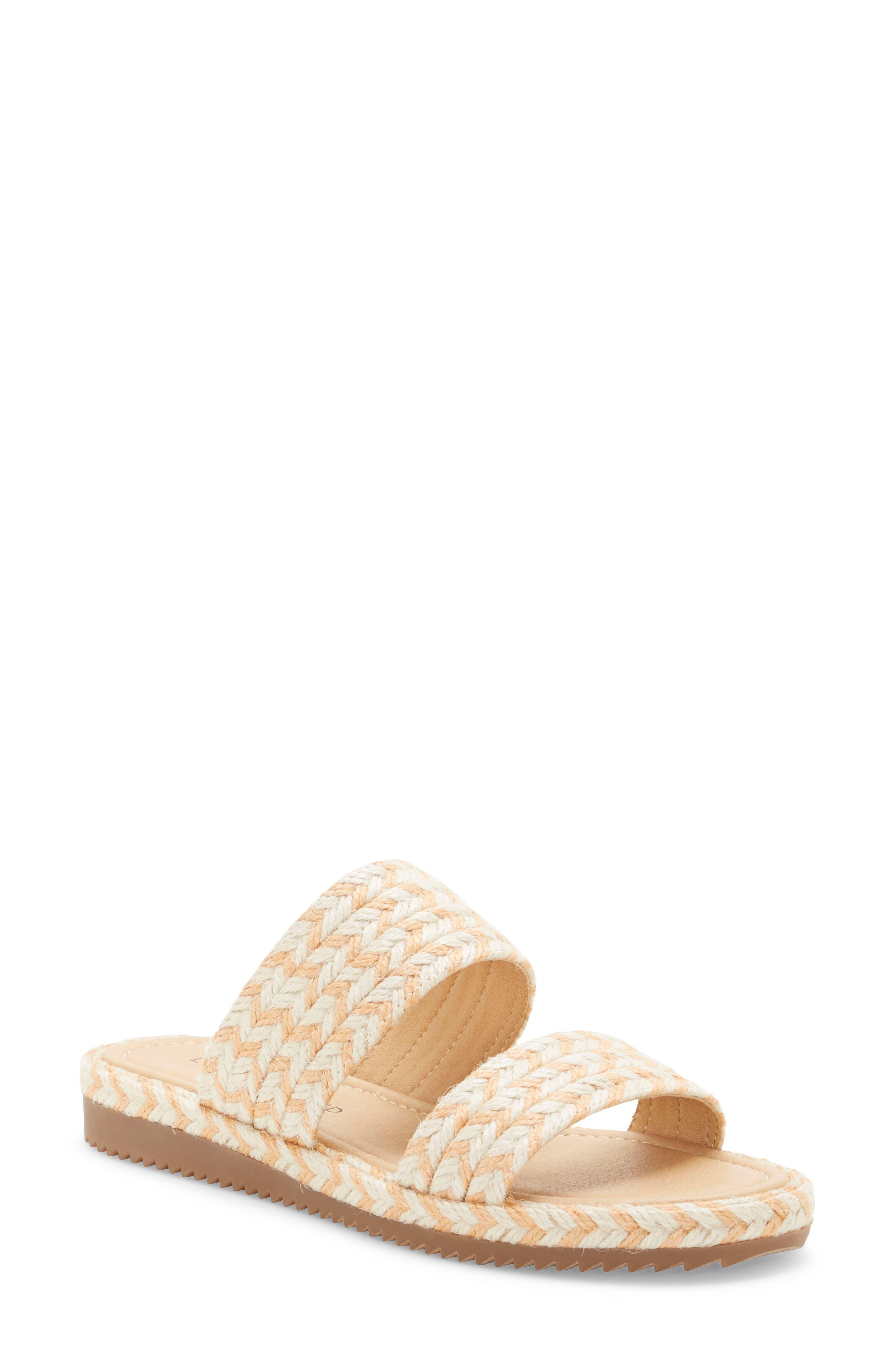 Women s Lucky Brand Decime Slide Sandal E579