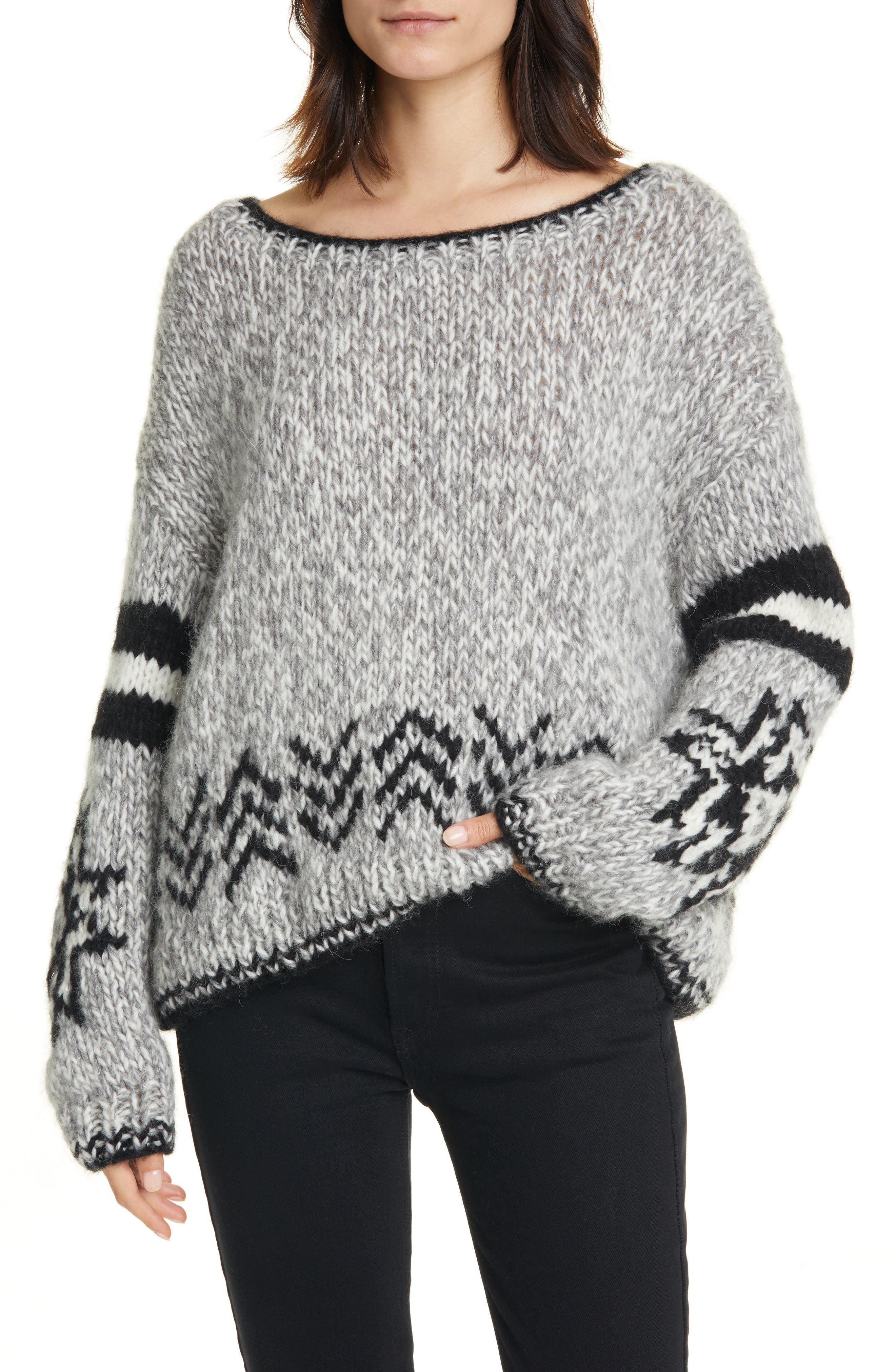Image of Line MIkaela Wool Blend Sweater