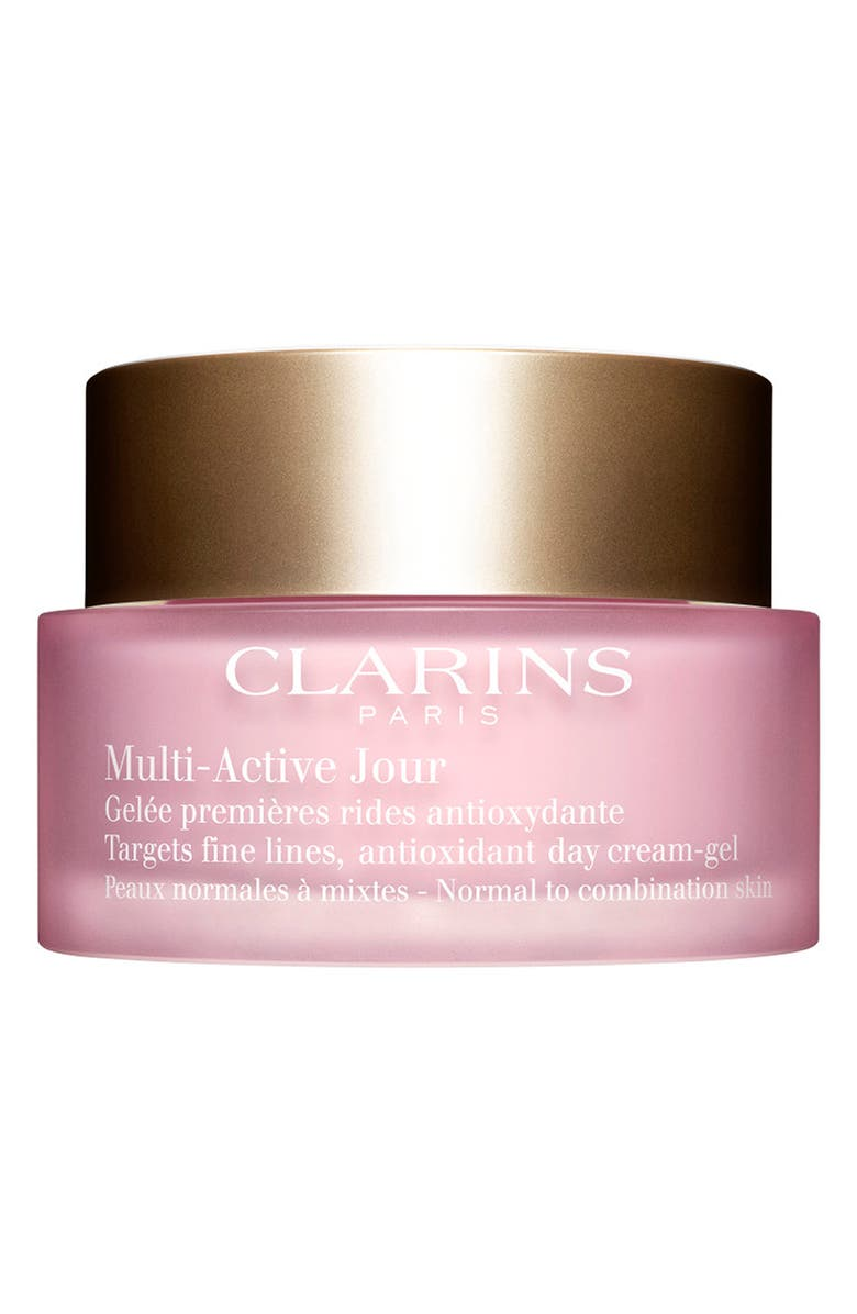 CLARINS Multi-Active Day Cream Gel for Normal to Combination Skin Types, Main, color, NO COLOR
