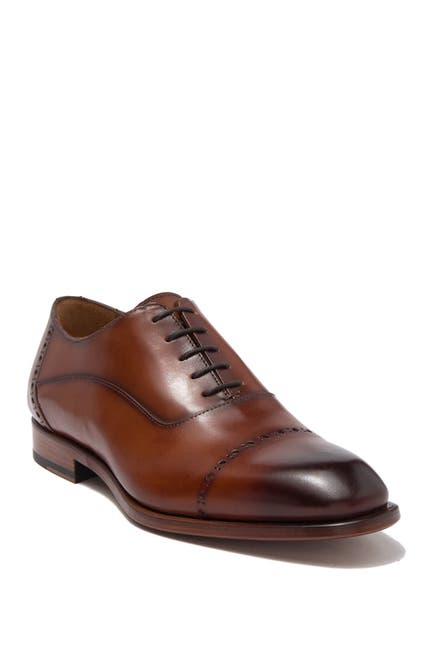 Image of Antonio Maurizi Leather Cap Toe Oxford