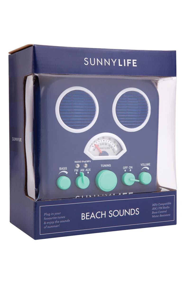 Sunnylife Beach Sounds Portable Water