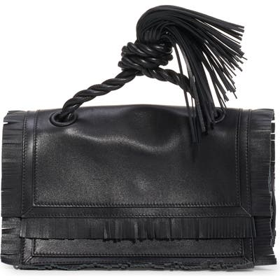 Valentino Garavani The Rope Small Clutch - Brown