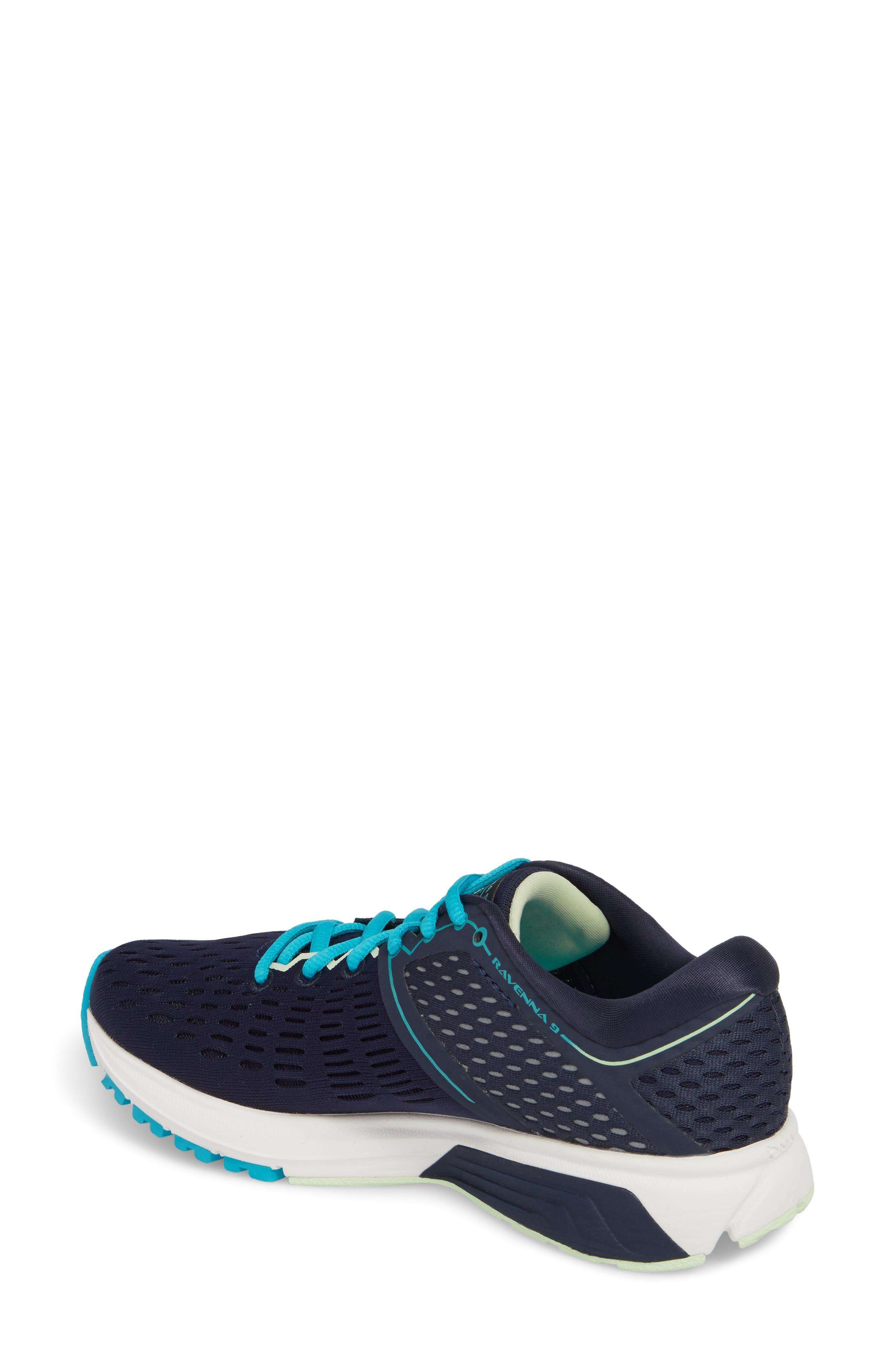 ,                             Ravenna 9 Running Shoe,                             Alternate thumbnail 2, color,                             NAVY/ BLUE/ GREEN