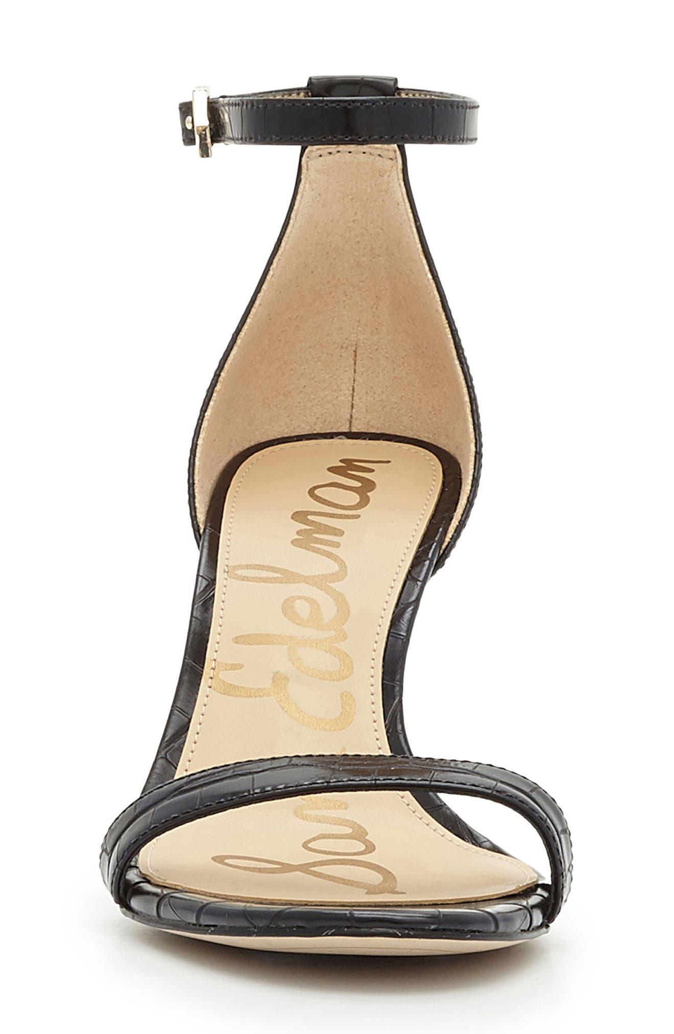,                             'Patti' Ankle Strap Sandal,                             Alternate thumbnail 16, color,                             007