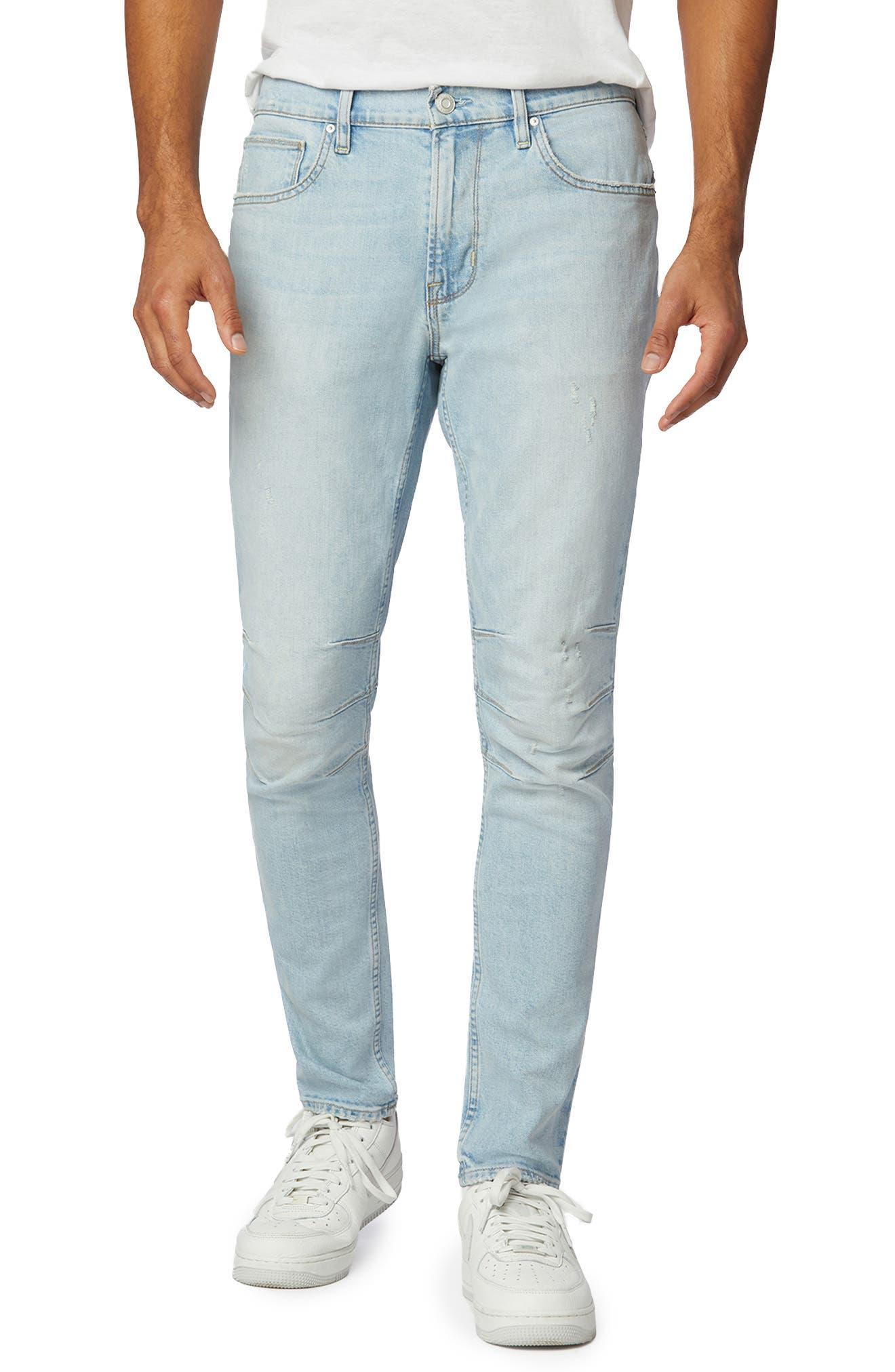 Zack Moto Skinny Fit Jeans