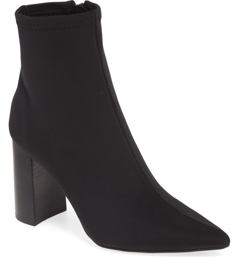 JEFFREY CAMPBELL Raven Bootie, Main, color, BLACK FABRIC