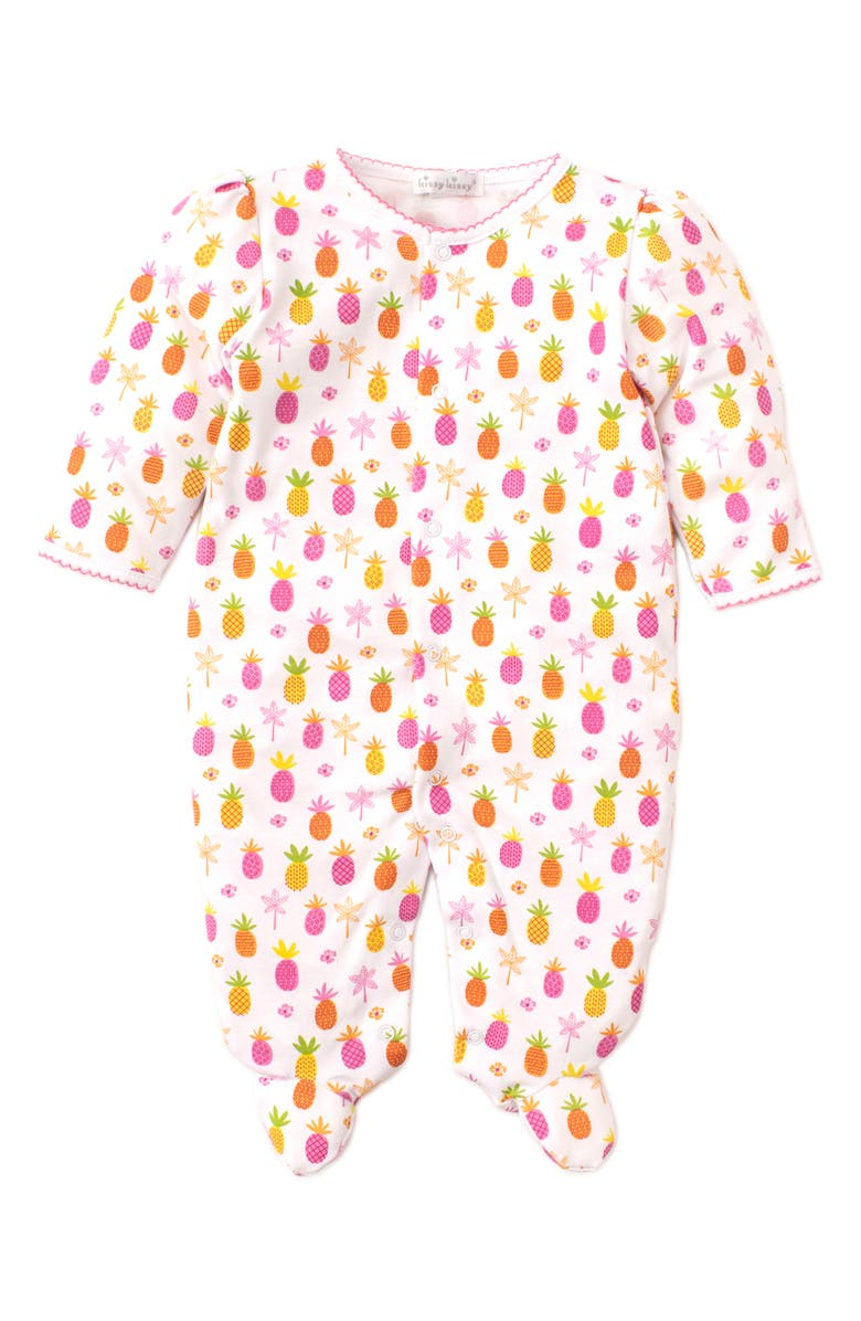 KISSY KISSY Pineapples Footie, Main, color, 650