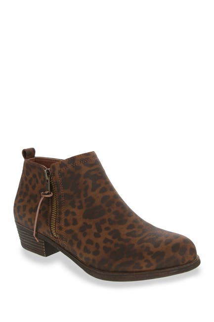 Image of Sugar Truffle Leopard Print Ankle Boot