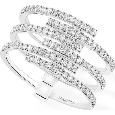 Messika Gatsby Multirow Diamond Ring