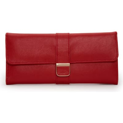 Wolf Palermo Jewelry Roll - Red
