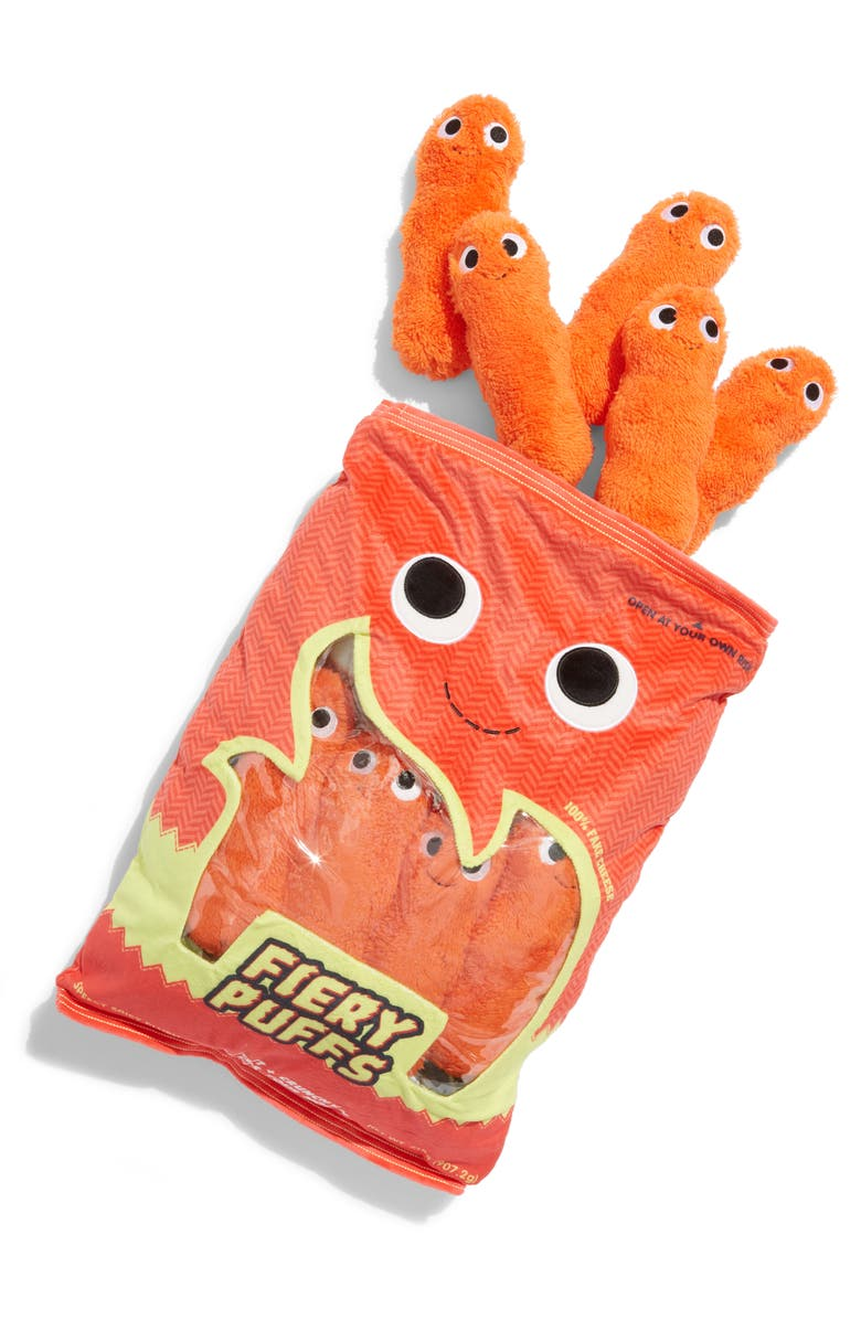 KIDROBOT Yummy World Extra Large Frye & The Fiery Puffs Plush Toy, Main, color, 960