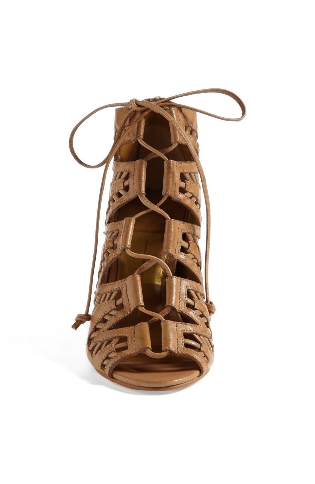 ,                             'Shandy' Cutout Sandal,                             Alternate thumbnail 12, color,                             290