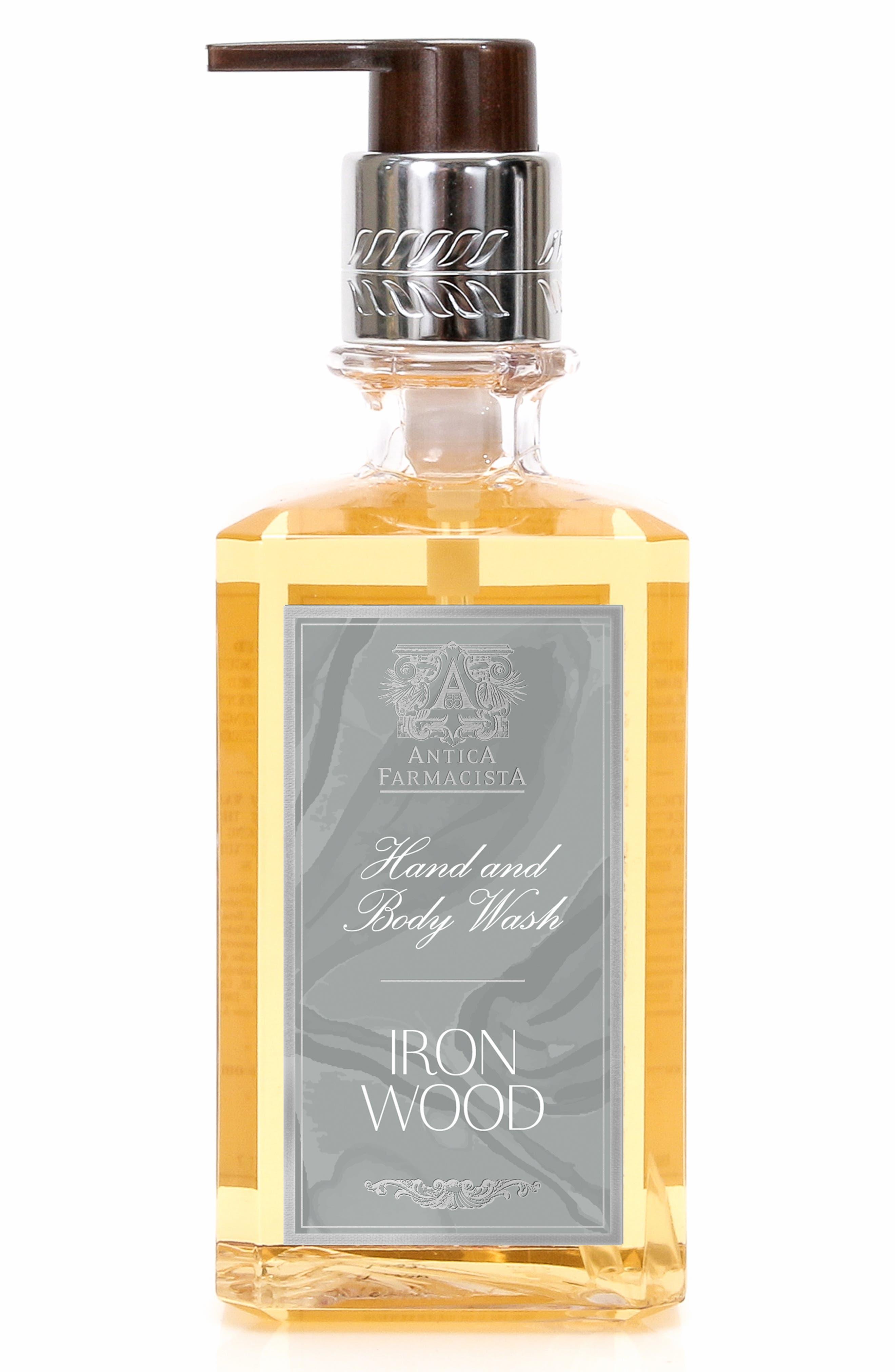 Iron Wood Hand & Body Wash