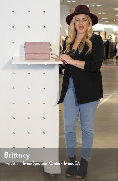 Diilila Leather Crossbody Bag, sales video thumbnail